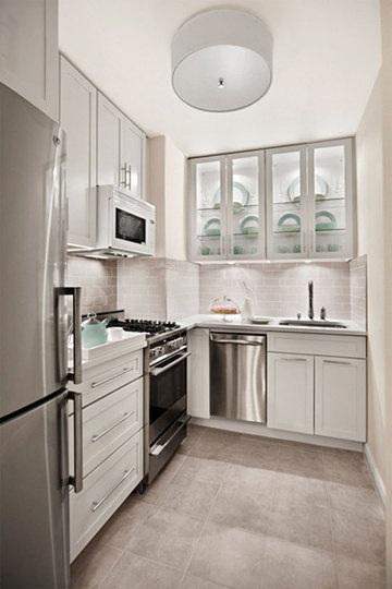 cocinas-blancas-modernas-acero-inoxidable