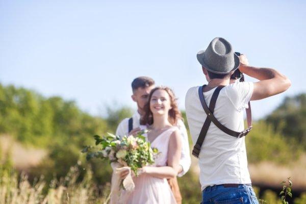 Como celebrar una boda ecologica fotografias digitales