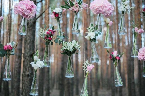 Como celebrar una boda ecologica ramo de novia con flores naturales