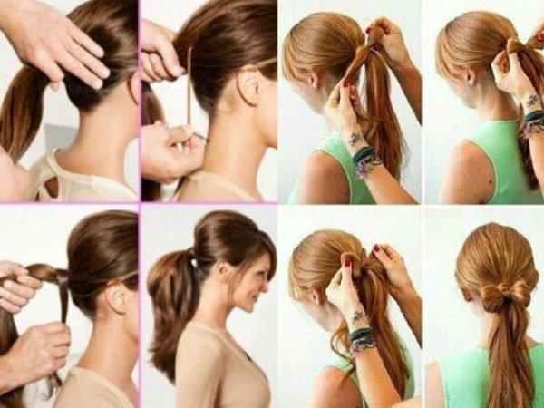 20-peinados-fáciles-y-rápidos-coleta-sencilla