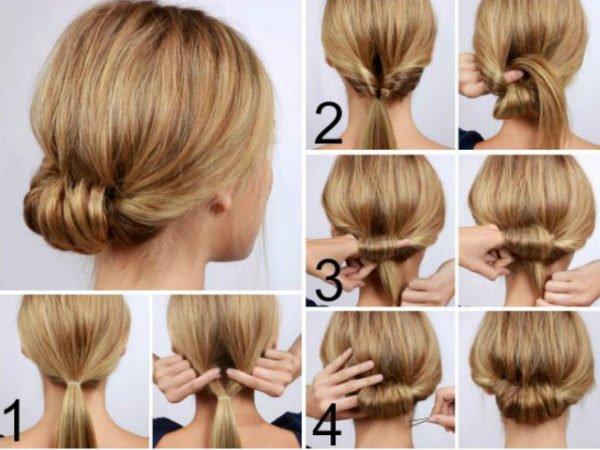 20-peinados-fáciles-y-rápidos-moño-bajo
