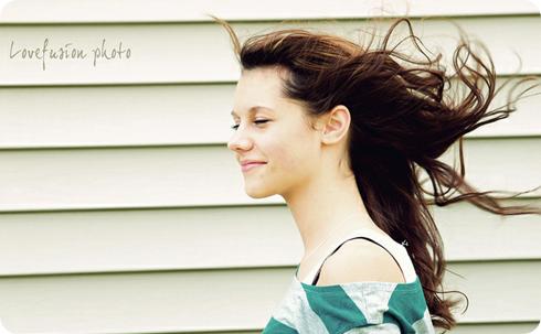 cabello al viento