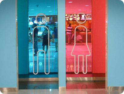 rosa niñas azul niños