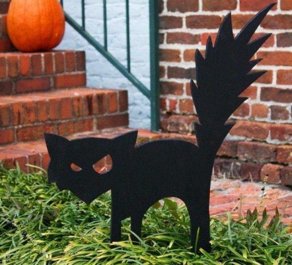 decoracion-halloween-silueta-gato-negro-madera