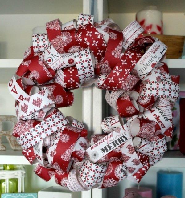 coronas-de-navidad-tiras-papel