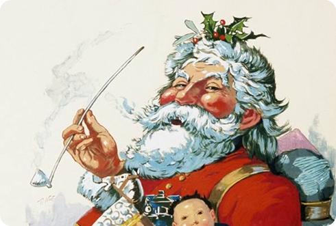Papá Noel, por Thomas Nast