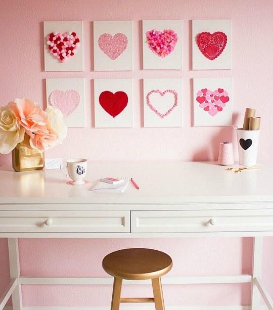 decoracion-san-valentin-para-el-salon-cuadros