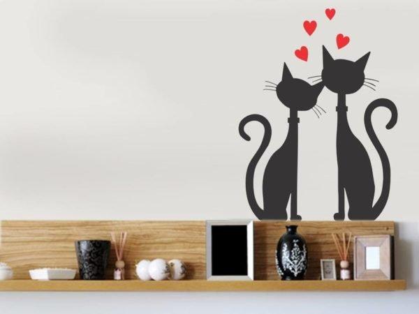 decoracion-san-valentin-para-el-salon-gatos