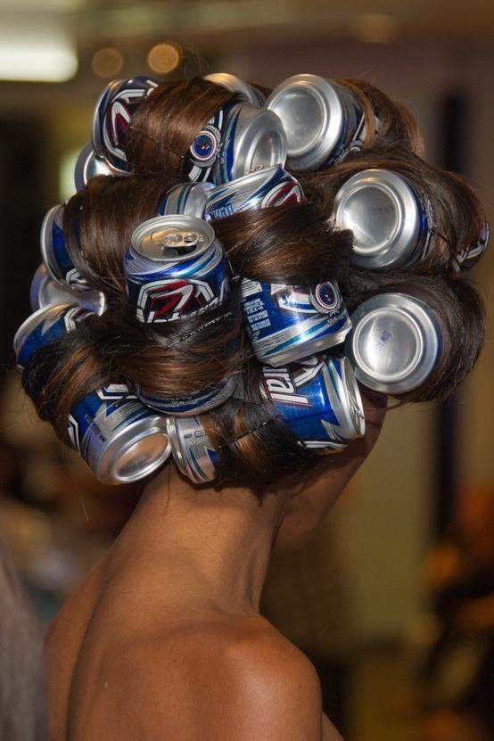 Rizar el pelo con rulos