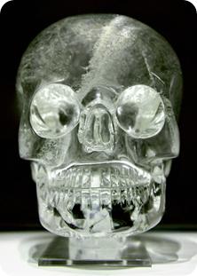 cráneo de cristal Museo británico