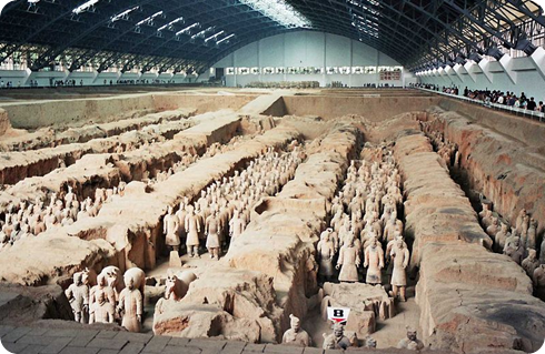 Guerreros de terracota, China