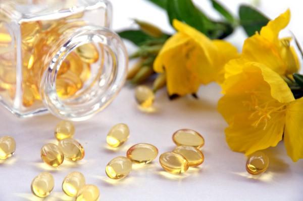 evening primrose and supplement