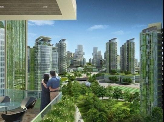 Tianjin Eco-city en China