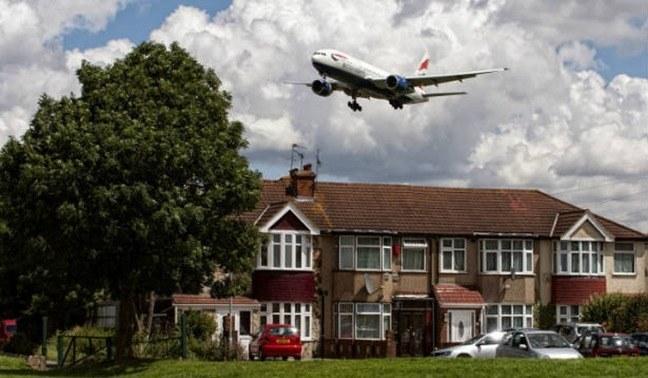 El ruido de los aviones aumenta el riesgo de enfermedades cardiovasculares