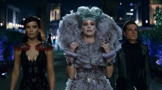 Hunger games: Catching fire costumes