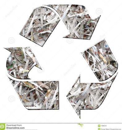 papel reciclado industrial