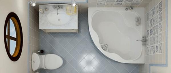 baños-pequeños-con-bañera-esquinera