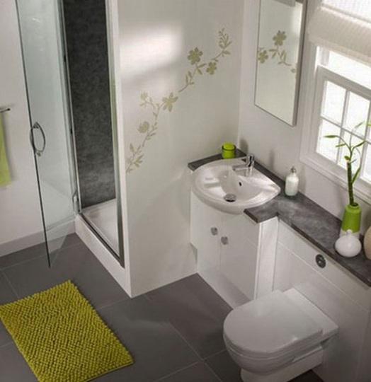 baños-pequeños-decoracion-pegatinas