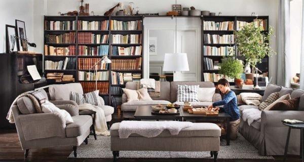 fotos-salones-modernos-librerias