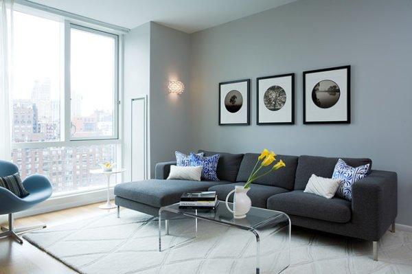 fotos-salones-modernos-sofa-negro