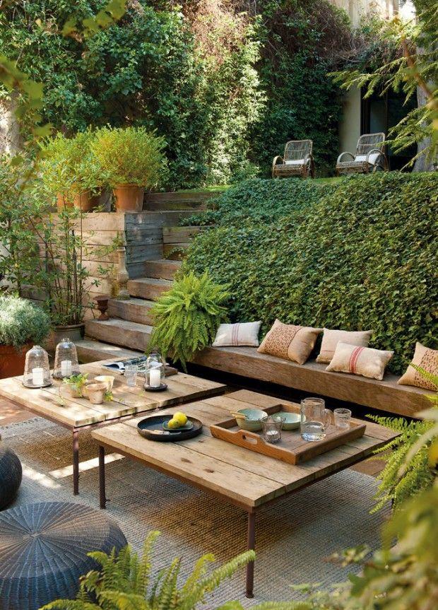 jardin con enredadera