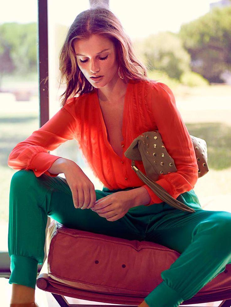 rojo y verde ropa no combinar