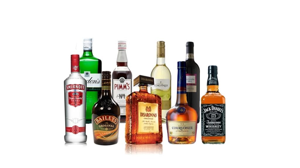 bebidas con mayor calorias