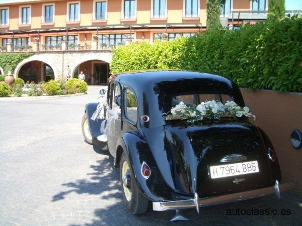 decoracion flores coche novios
