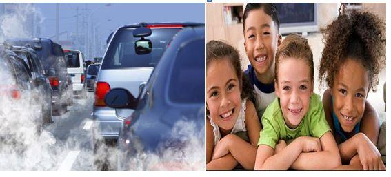Contaminación y ruido como afecta los niños