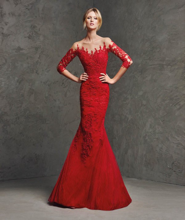 vestidos-de-fiesta-pronovias-rojo-llamas