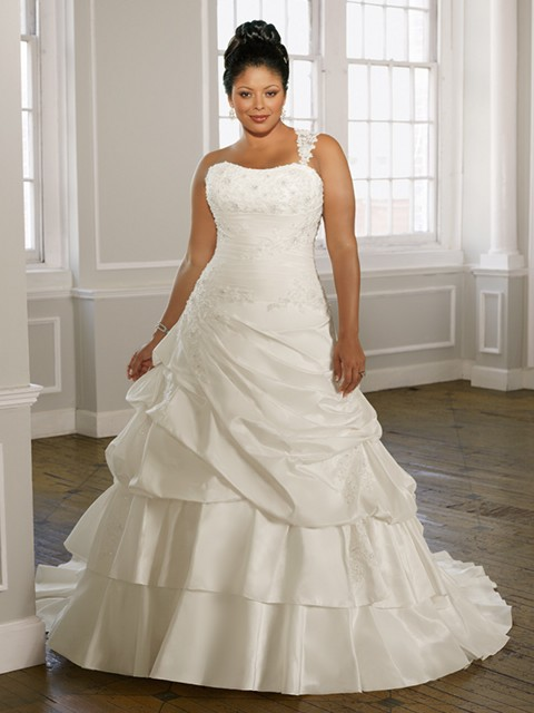 Vestidos-de-novia-para-gorditas-elegante