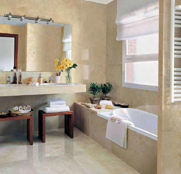 colores-para-casas-con-estlo-interior-baño-color-beige-marmol