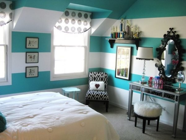 colores-para-cuartos-juveniles-colores-cuartos-chicas-aguamarina-con-blanco