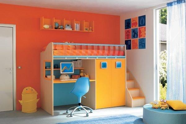 elegir-el-color-para-el-cuarto-de-niños-y-niñas-color-naranja