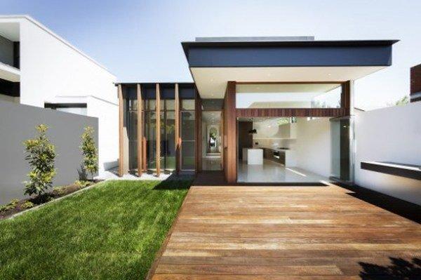 fachadas-de-las-casas-más-bonitas-y-modernas-casa-con-entrada-de-madera