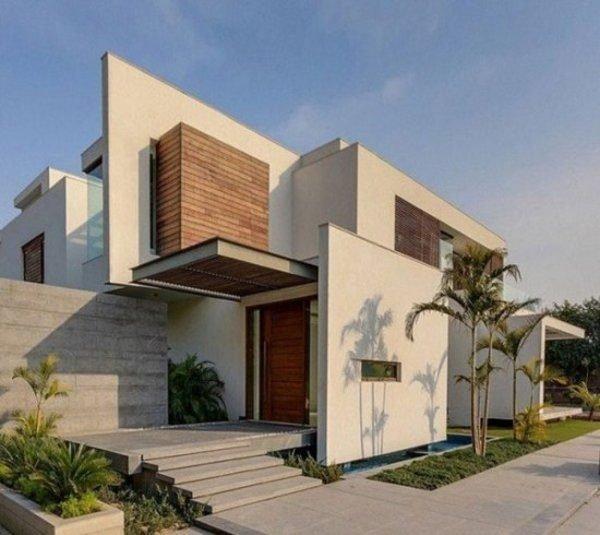fachadas-de-las-casas-más-bonitas-y-modernas-casa-lineas-rectas