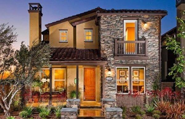 fachadas-de-las-casas-más-bonitas-y-modernas-casa-rustica