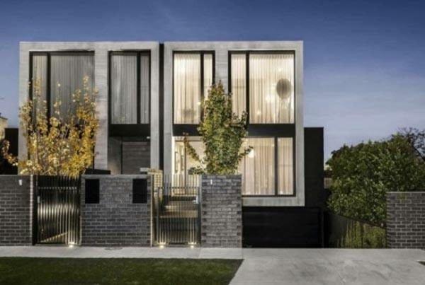 fachadas-de-las-casas-más-bonitas-y-modernas-duplex-negras-blancas