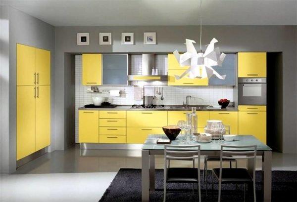ideas-combinar-los-colores-la-cocina-cocina-amarilla-gris