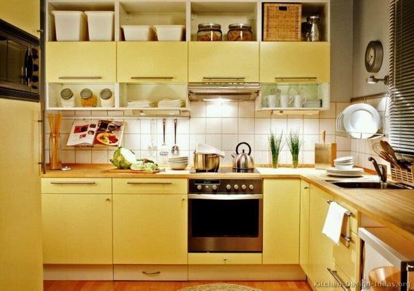 ideas-combinar-los-colores-la-cocina-cocina-amarilla-retro
