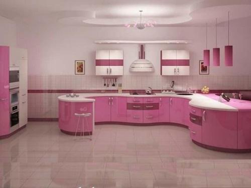 ideas-combinar-los-colores-la-cocina-cocina-rosa