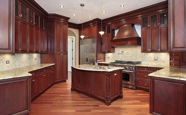 ideas-combinar-los-colores-la-cocina-madera