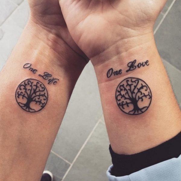 tatuaje-árbol-frase-parejas