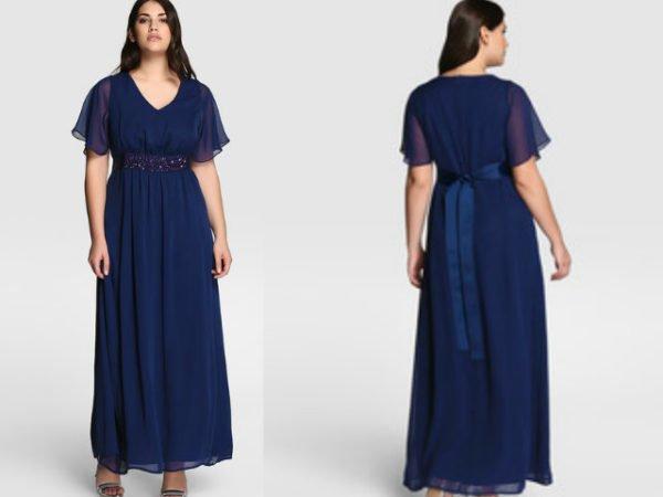 vestidos-tallas-grandes-el-corte-inglés-largo-azul-marino