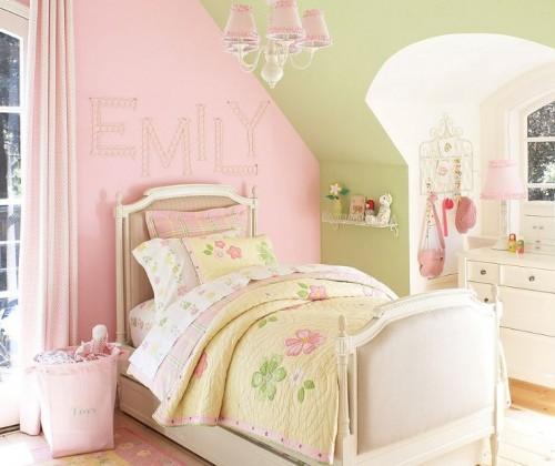 colores-para-cuartos-juveniles-verde-rosa-blanco