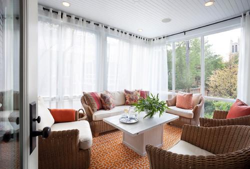 decoracion-salones-modernos-cortinas-blancas