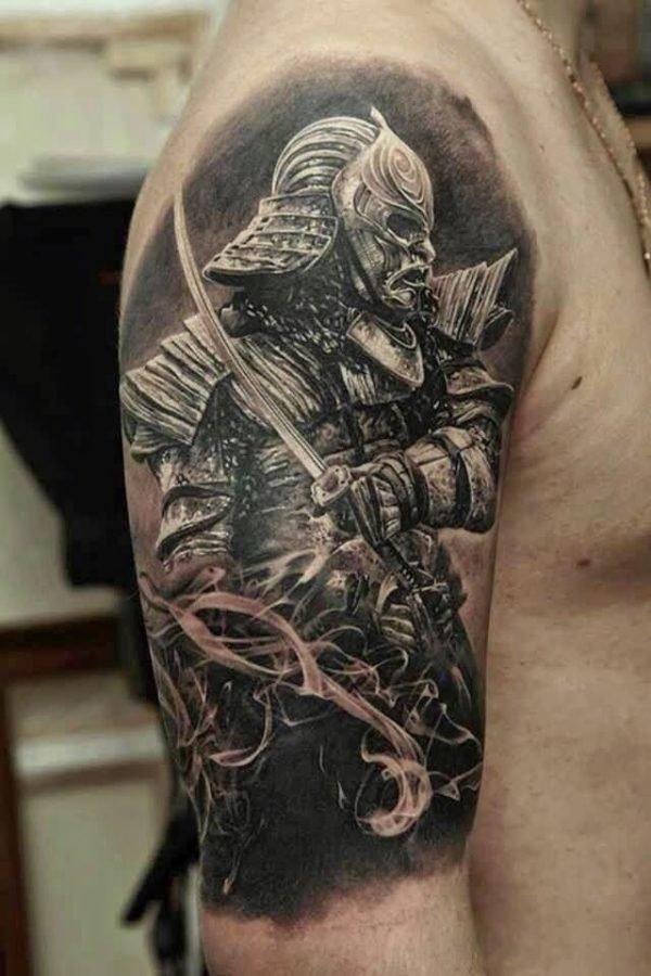 tatuajes-brazo-soldado-samurai