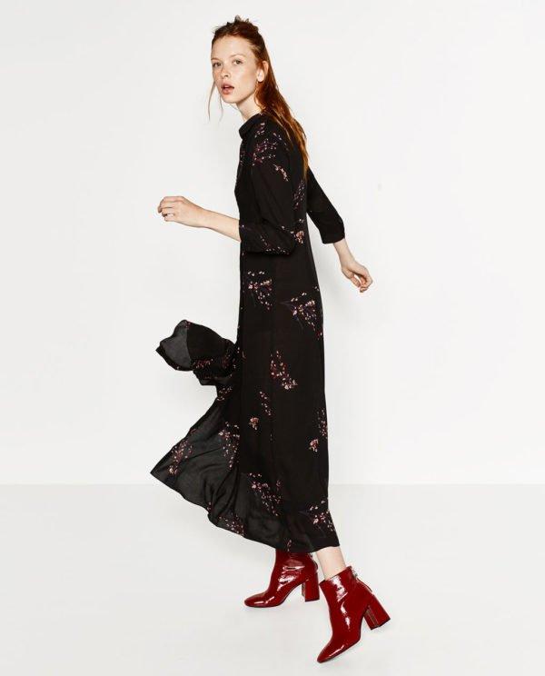 vestidos-de-fiesta-largos-otoño-invierno-2017-negro-y-estampado