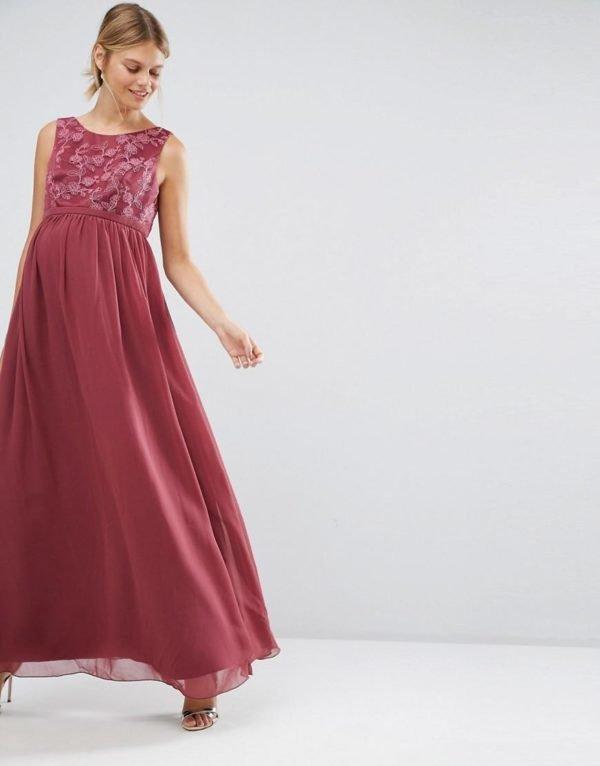 vestidos-de-fiesta-premama-otoño-invierno-2017-fiesta