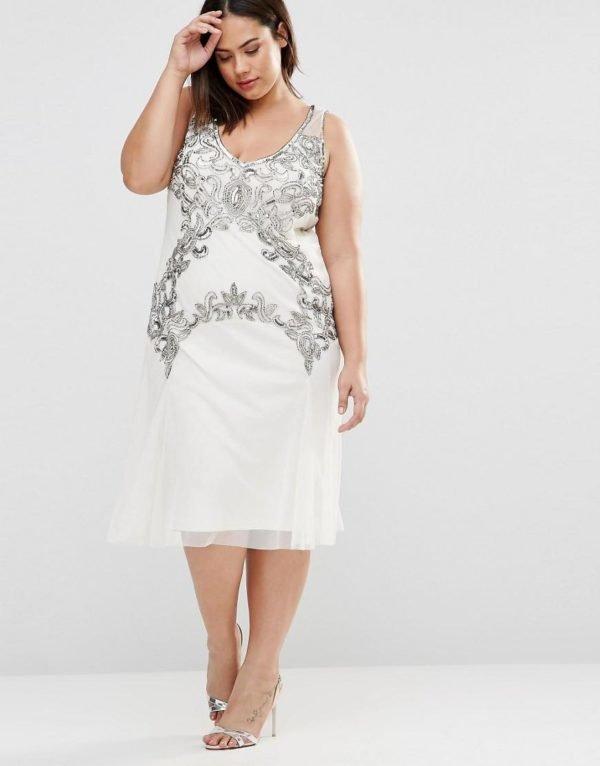 vestidos-de-fiesta-tallas-grandes-otoño-invierno-2017-blanco